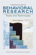 Book A Practical Guide to Behavioral Research: Tools and Techniques by Robert Sommer