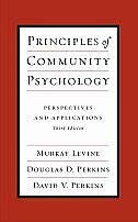 Book Principles of Community Psychology: Perspectives and Applications by Murray Levine