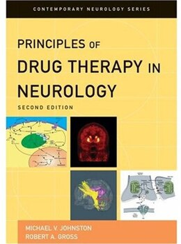 Book Principles of Drug Therapy in Neurology by Michael V. Johnston