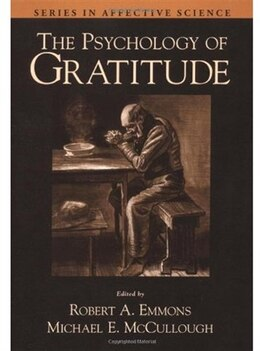 Book The Psychology of Gratitude by Robert A. Emmons
