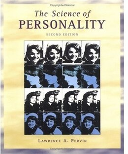 Book The Science of Personality by Lawrence A. Pervin