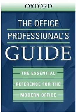 Book The Office Professionals Guide by Oxford