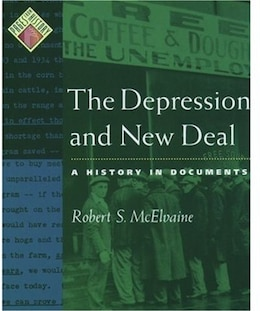 Book The Depression and New Deal: A History in Documents by Robert S. Mcelvaine