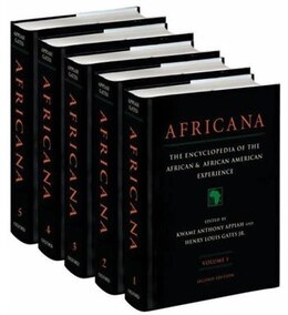 Book Africana: The Encyclopedia of the African and African-American Experience 5-Volume Set by Henry Louis Gates