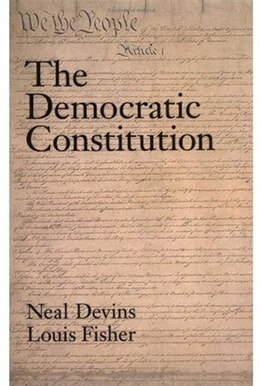 Book The Democratic Constitution by Neal Devins