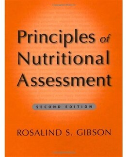 Book Principles Of Nutritional Assessment by Rosalind S. Gibson