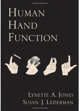 Book Human Hand Function by Lynette A. Jones