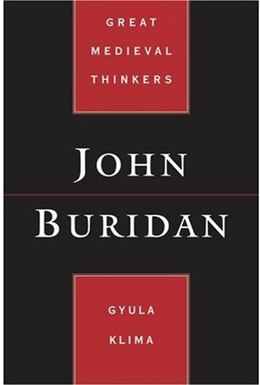 Book John Buridan by Gyula Klima
