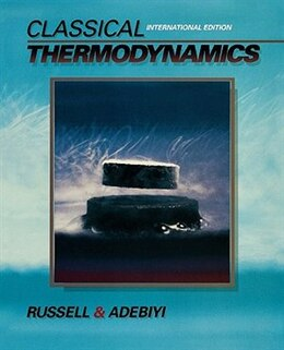 Book Classical Thermodynamics: International Edition by Lynn D. Russell