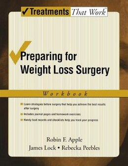 Book Preparing For Weight Loss Surgery: Workbook by Robin F. Apple