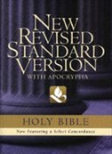 Book The New Revised Standard Version Bible with Apocrypha: Text Edition by NRSV Bible Translation Committee