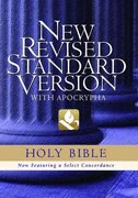 Book The New Revised Standard Version Bible with Apocrypha: Text Edition by Oxford