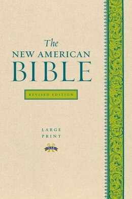 Book The New American Bible Revised Edition, Large Print Edition by Oxford Dictionaries