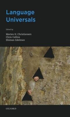 Book Language Universals by Morten H. Christiansen