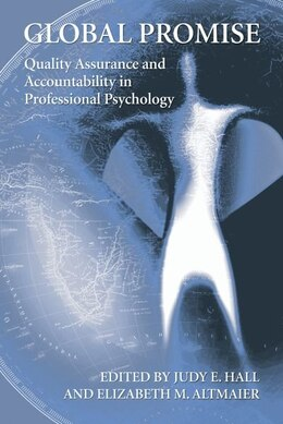 Book International Perspectives on Accountability in Professional Psychology by Judy Hall