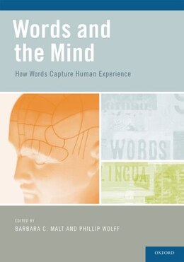 Book Words and the Mind by Barbara Malt
