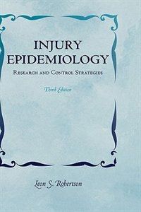 Book Injury Epidemiology: Research and Control Strategies by Leon Robertson