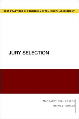 Book Jury Selection by Margaret Bull Kovera