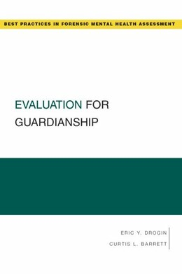 Book Evaluation for Guardianship by Eric Y. Drogin