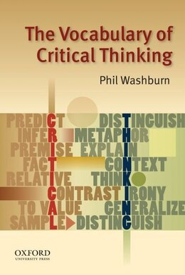 Book The Vocabulary of Critical Thinking by Phil Washburn