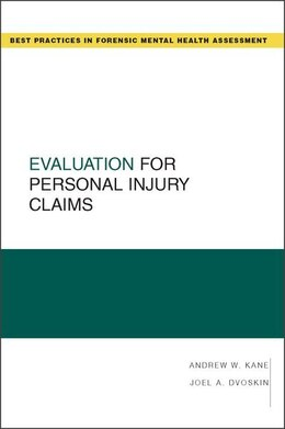 Book Evaluation for Personal Injury Claims by Andrew W. Kane