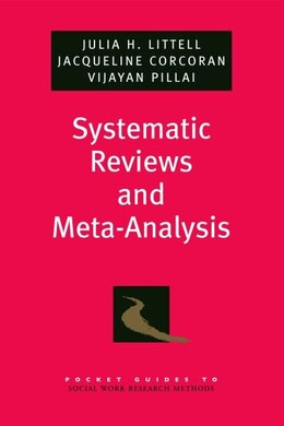 Book Pocket Guide to Meta-Analysis in Social Work by Jacqueline Corcoran