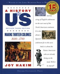 A History of US: Vol 2, Making Thirteen Colonies