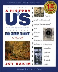 A History of US: Vol 3, From Colonies to Country