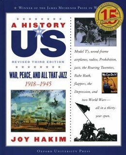 Book A History of US: Vol 9, War, Peace, and All That Jazz by Joy Hakim