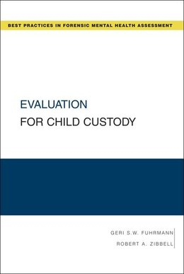 Book Evaluation for Child Custody by Geri S. W. Fuhrmann