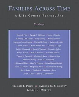 Book Families across Time: A Life Course Perspective: Readings by Sharon J. Price