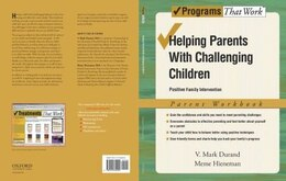 Book Helping Parents with Challenging Children Positive Family Intervention Parent Workbook by V Mark Durand
