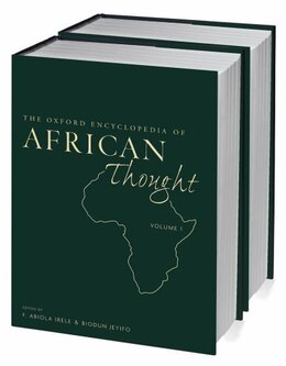 Book The Oxford Encyclopedia of African Thought: Two-volume set by F. Abiola Irele