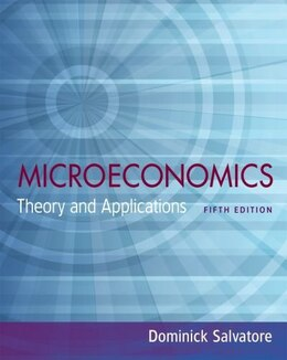 Book Microeconomics: Theory and Applications by Dominick Salvatore