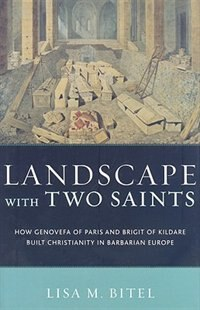 Book Landscape with Two Saints by Lisa M. Bitel