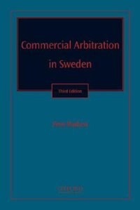 Book Commercial Arbitration in Sweden by Finn Madsen