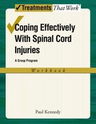 Coping Effectively With Spinal Cord Inuries A Group Program, Workbook
