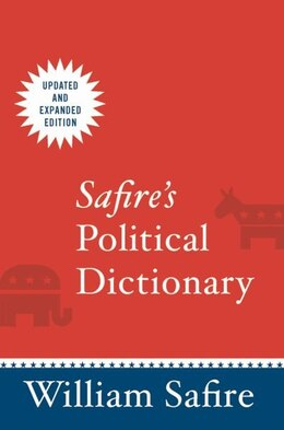 Book Safires Political Dictionary by William Safire