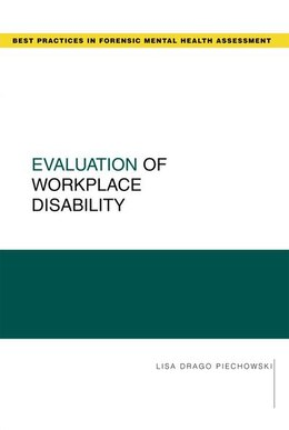 Book Evaluation of Workplace Disability by Lisa Drago Piechowski