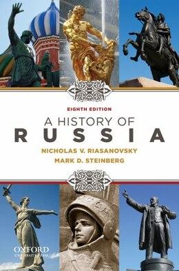 Book A History of Russia by Nicholas V. Riasanovsky