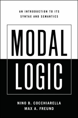 Book Modal Logic: An Introduction to its Syntax and Semantics by Nino B. Cocchiarella