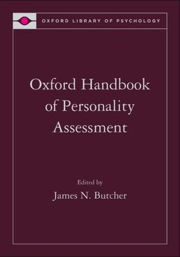 Book Oxford Handbook of Personality Assessment by James N. Butcher