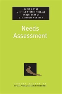 Book Needs Assessment by David Royse