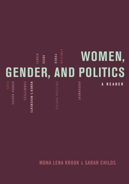 Book Women, Gender, and Politics: A Reader by Mona Lena Krook