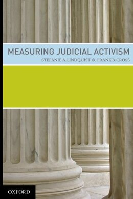 Book Measuring Judicial Activism by Stefanie Lindqquist