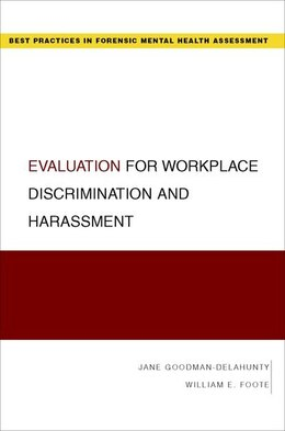Book Evaluation for Workplace Discrimination and Harassment by Jane Goodman-Delahunty
