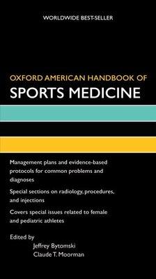 Book Oxford American Handbook of Sports Medicine by Jeffrey Bytomski