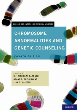 Book Chromosome Abnormalities and Genetic Counseling by R.J.M Gardner