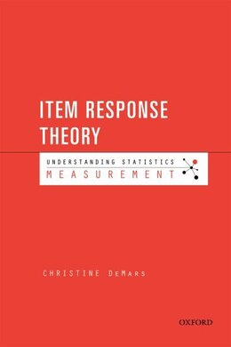 Book Item Response Theory by Christine DeMars