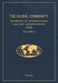 Global Community Yearbook 2008 Volume 2
